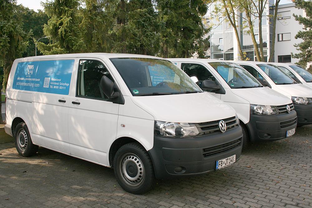 Winterdienst - Umstellung des Fuhrparks auf Volkswagen T5