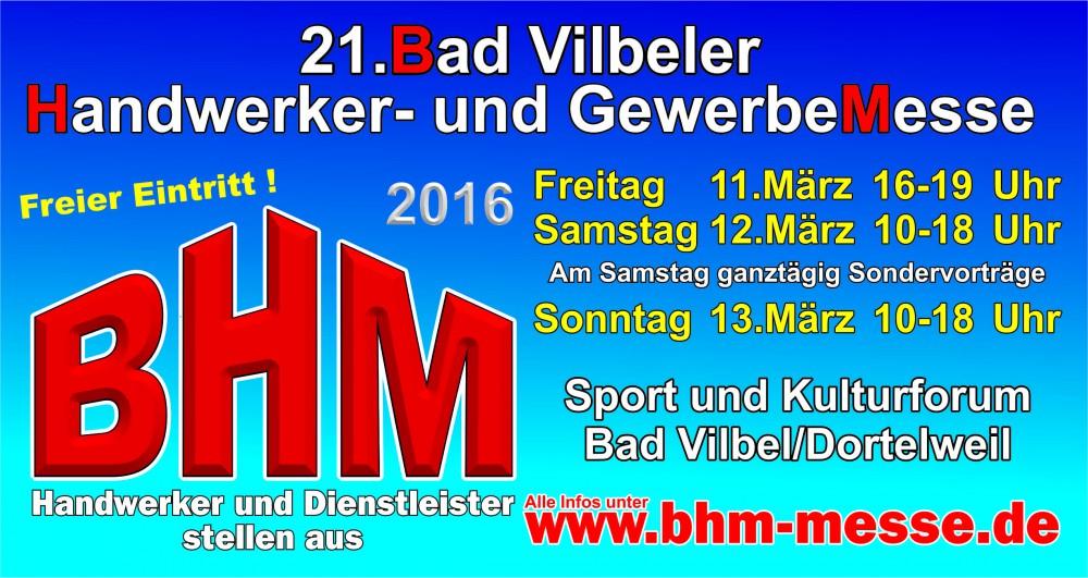 Bachmann+Schumacher auf der Gewerbemesse Bad Vilbel