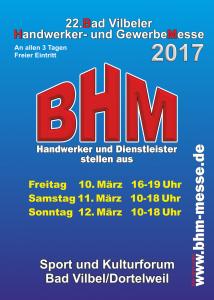 Flyer BHM 2017